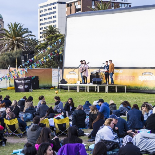 Ben & Jerry's Open Air Cinema On The List Melbourne