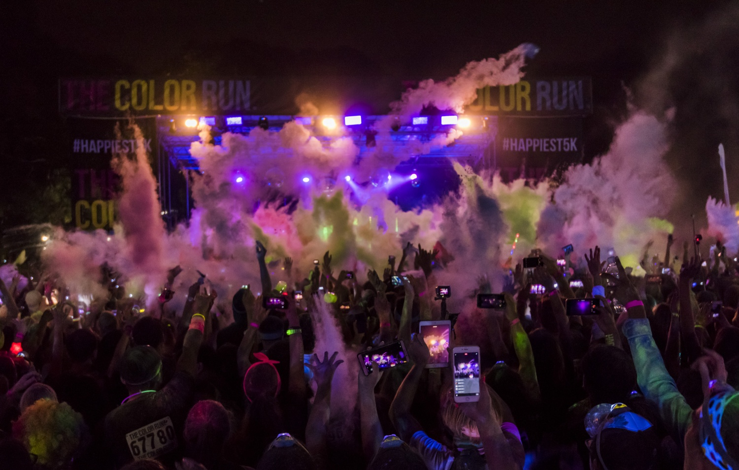 The Color Run Night, On The List, On The List Melbourne
