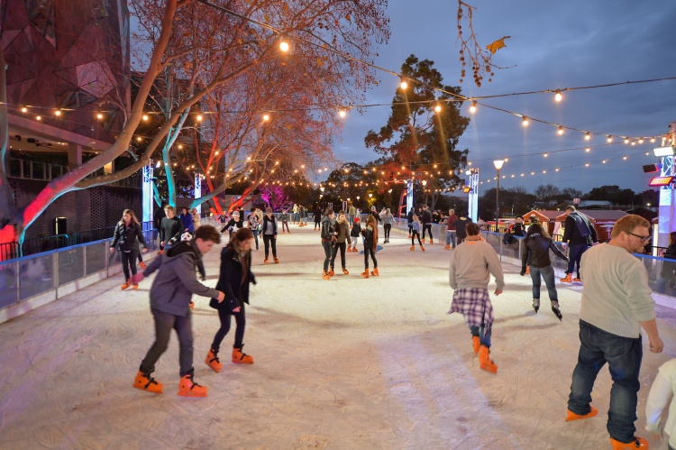 River Rink on Fed Square, On The List, On The List Melbourne