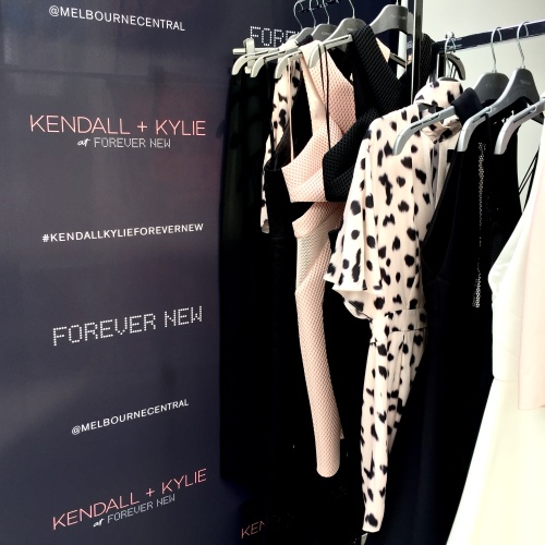Kendall + Kylie for Forever New, On The List Melbourne, Melbourne Central