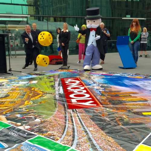 Melbourne Monopoly Board launch, On The List Melbourne