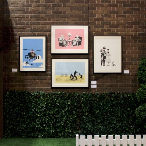 Banksy, On The List Melbourne, credit Shane Siy Cha