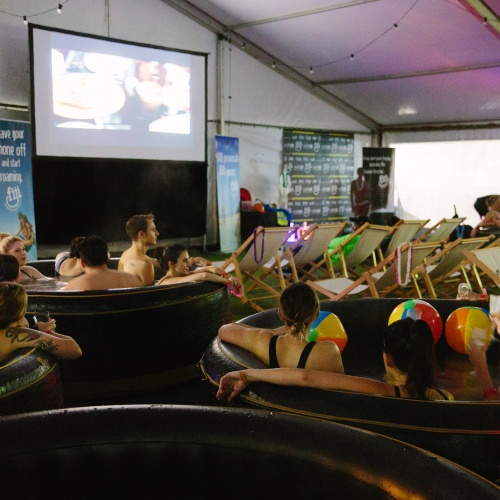 Hot Tub Cinema, On The List Melbourne