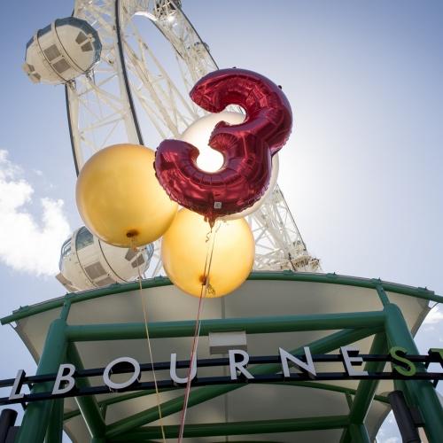 Melbourne Star Observation Wheel Third Birthday Celebrations From Feb 26 2017 LR 8